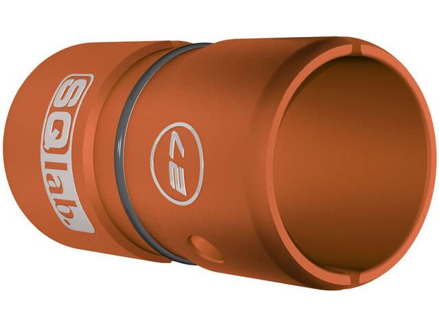 SQlab Styrhylsa Alu 27,0 till 31,8 mm anodiserad orange